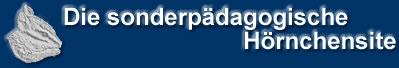 Logo der sonderp�dagogischen H�rnchensite